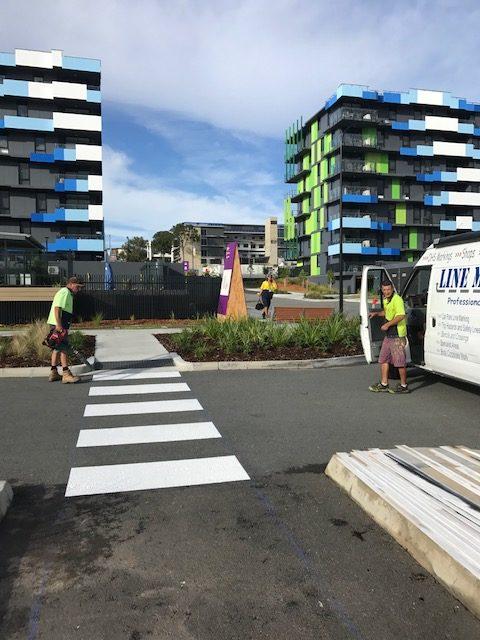 Line Marking HQ Games Village